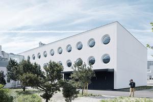 Produktions- und Lagergebäude des Linzer Brillenherstellers Silhouette
