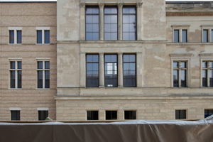 2 mal David Chipperfield: Neues Museum <br />von James-Simon-<br />Galerie aus, Berlin
