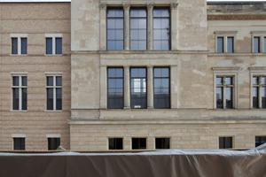 2 mal David Chipperfield: Neues Museum  von James-Simon- Galerie aus, Berlin
