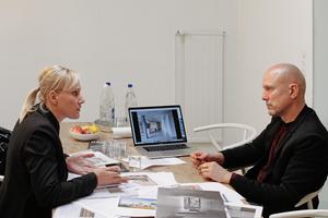 In Basel mit Andreas Bründler –<br />Buchner Bründler Architekten –<br />im Gespräch über den Beton<br />und seine Möglichkeiten