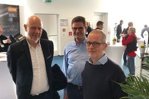 Matthias Horx (l.) mit DBZ Redakteur Benedikt Kraft (r.)