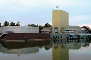 Kunstmuseum Groningen/NL (Mendini mit Coop Himmelb(l)au 1992–1994)