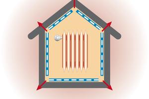 """Bild 02 Über Leckagen in der <irspacing style=""""letter-spacing: 0em;"""">Gebäudehülle geht massiv</irspacing> Heizwärme verloren. Die Folge: hohe Heizkosten und CO<sub>2</sub>-Emissionen"""