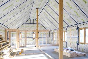 Bild 01 Auch die aktuelle EnEV fordert eine dauerhaft luftundurchlässige Abdichtung der Gebäudehülle entsprechend den Regeln der Technik