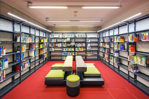 Bild 03 Um Wärmelasten aus Räumen mit hoher Beanspruchung abzuführen, werden unterschiedliche Raumtypen in der Hochschule zusätzlich durch VRF-Klimasysteme gekühlt