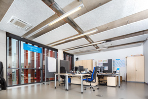 Bild 06 Die Aufgabe der Klimaanlage ist es, die Eigenlasten aus den Arbeits- und Seminarräumen effizient abzuführen