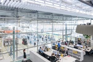 Austausch zwischen Planung, Fertigung und Montage: Das soll nicht nur beim Fassadenbauspezialisten seele in Gersthofen, sondern virtuell zwischen Planer, Herstellern und Gebäudebetreibern sowie zwischen Büros und Baustellen weltweit verwirklicht werden