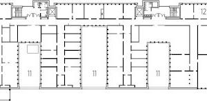 4. Obergeschoss, M 1:1 000