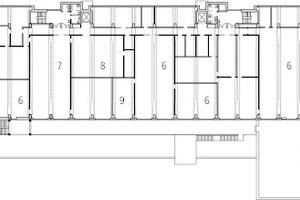 1. Obergeschoss, M 1:1 000