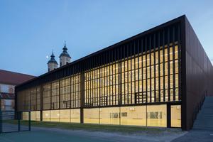Neubau einer Dreifach-Turnhalle für die Realschulen in Eichstätt-Rebdorf - Auszeichnung Kategorie Bauen für die Gemeinschaft