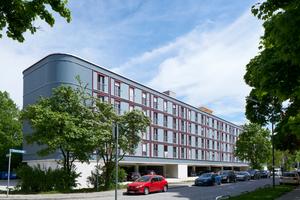 Parkplatzüberbauung am Dantebad, München - Preisträger Kategorie Wohnungsbau