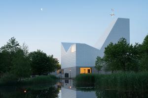 Kirchenzentrum Seliger Pater Rupert Mayer, Poing - Preisträger ind der Kategorie Besondere Bauten