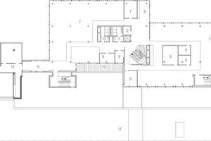 Grundriss 1. Obergeschoss, M 1 : 600