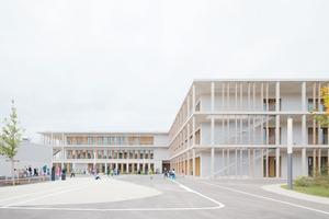Die modulare Bauweise, in der auch die anderen vier Grundschulen von wulf architekten errichtet wurden, sieht man dem Gebäude nicht an