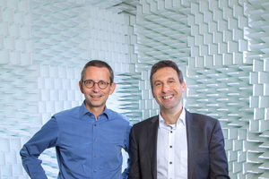 DBZ Heftpaten Elmar Schröder und Steffen Czychi, Müller-bbm GmbH, Planegg