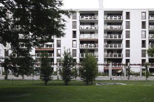 Sozialen Wohnungsbau mit allen Kräften fördern: Dazu musste das Grundgesetzt geändert werden