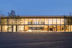 Kategorie öffentliche Bereiche Innenraum:  Empfangs- und Auditoriumsgebäude bei Roche in Kaiseraugst Lichtplanung: hübschergestaltet GmbH