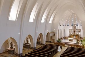 Kategorie Nachwuchspreis:  Pallottiner- und Pfarrkirche Sankt Marien in Limburg Lichtplanung: SARAH TEXTOR LICHTDESIGN
