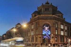 Kategorie Lichtkunst:  Lichtinstallation Postfuhramt, Berlin Lichtplanung: jack be nimble - lighting | design| innovation