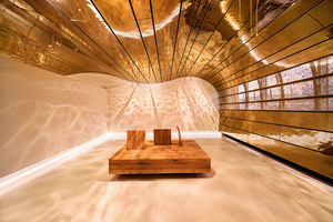 Kategorie Kulturbauten:  Raum der Stille – Flughafen Frankfurt Lichtplanung: LDE Belzner Holmes