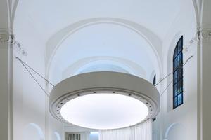 Kategorie Bildung:  Klarissenkirche Köln Lichtplanung: arens faulhaber lichtplaner