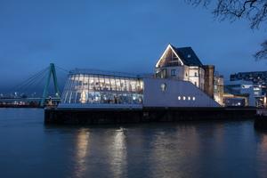 Kategorie Außenbeleuchtung Inszenierung:  Schokoladenmuseum, Köln Lichtplanung: ag Licht GbR
