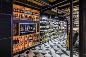 Kategorie Shopbeleuchtung:  Getränke Hoffmann Flagshipstore Lichtplanung: jack be nimble - lighting | design| innovation