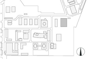 Lageplan, M 1:7000