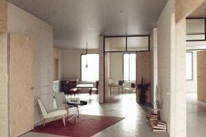 """Förderpreis """"Bauen in der Zeit"""" von Laura Dominique PastiorJury: """" … So sehr, wie wir wissen, dass sich die Anforderungen an unsere gebaute Umwelt ständig ändern können, so sehr brauchen wir solche Beispiele für eine intelligente Architektur, die auf diesen Veränderungsdruck möglichst lange flexibel reagieren kann."""""""