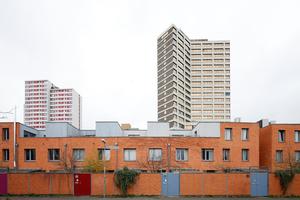 "Stillstand hinter dem lebendigen ""Gilde Carree"" (Architekten: Hübotter+Stürken, Hannover)?"
