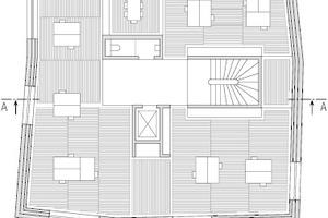 Grundriss, 1.Obergeschoss, M 1:333,33