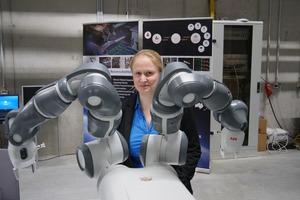 Dorit Borrmann programmiert Roboter. Auch dafür hat sie jetzt den Zonta-Preis 2019 erhalten