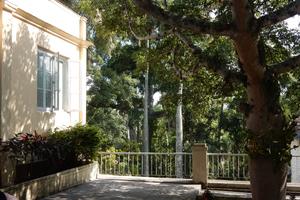 Finca La Vigia von Ernest Hemingway - Blick auf die Terrasse