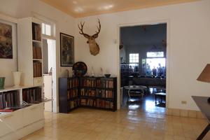 Der Innenraum der Finca La Vigia von Ernest Hemingway