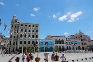 """Stadtteil """"La Habana Vieja"""" (Altstadt) Plaza Vieja"""