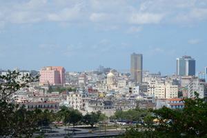 Panoramablick auf Havanna von der Festung El Morro