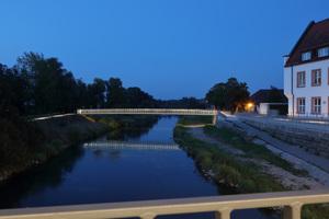 1. Preis Außenebeleuchtung/Inszenierung: Brücken für den Stadteingang, Riedlingen /  Lichtplanung: schlaich bergermann partner