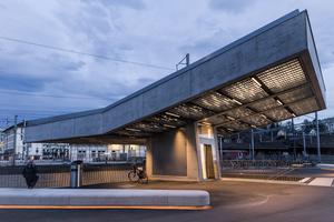 1. Preis Öffentliche Bereiche/Außenbeleuchtung: Gleisquerung Winterthur /  Lichtplanung: Reflexion