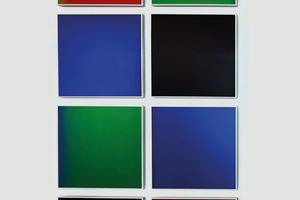 Die Farb-Muster demonstrieren die Vielfalt der BIPV-Module
