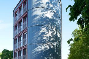 Nike für Neuerung: Parkplatzüberbauung am Dantebad, München