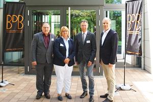 Das BDB-Präsidium: Walter von Wittke, Ute Zeller, Ernst Uhing  und Christoph Schild  (Auf dem Bild fehlt Frau Bartl)