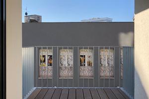Die Wohnungen mit Größen zwischen 50 und 92 m² bieten in den neuen Häusern Räume für unterschiedliche Bedürfnisse. Fast jede Wohnung besitzt einen Balkon oder eine Dachterrasse<br />