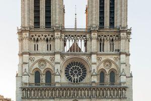 Notre-Dame de Paris, hier vor dem Brand, wird so wieder aufgebaut