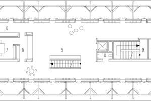 Grundriss 1. Obergeschoss, M 1:400