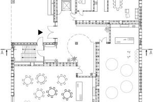 Grundriss Erdgeschoss, M 1:400
