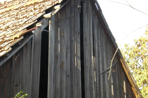 Historisches Vorbild Holz/Giebel