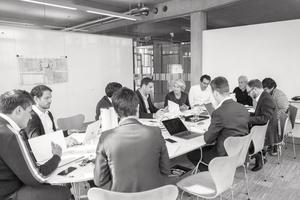 Change-Management bedeutet viel zu kommunizieren, das wissen die Geschäftsführer bei Nickl & Partner Architekten