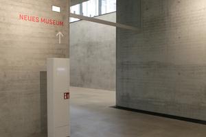 Übergang von der Wechselausstellung zum Neuen Museum