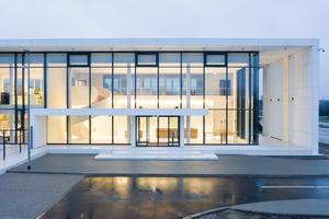 Das Konzept des neuen Logistikuzentrums - kommunikativ, transparent und modern<br />