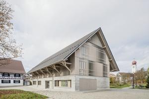 Die Bücherei Kressbronn am Bodensee von Steimle Architekten reiht sich in die Riege der Nominierten für den Deutschen Nachhaltigkeitspreis